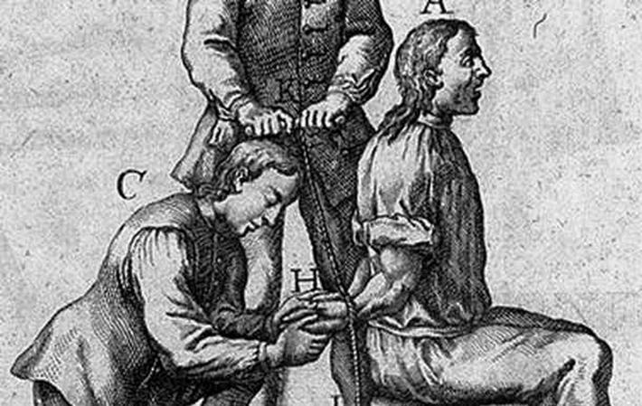 brutal torture devices - rope torture