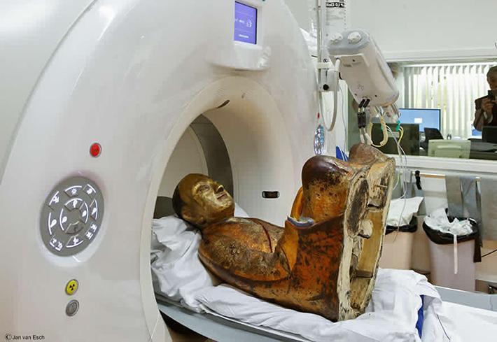 chinese monk mummy ct scan 3