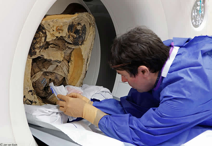 chinese monk mummy ct scan 5
