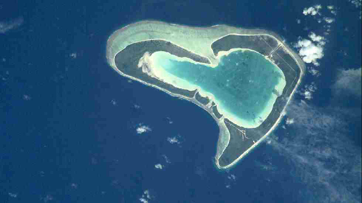 heart-shaped islands - tupai french polynesia