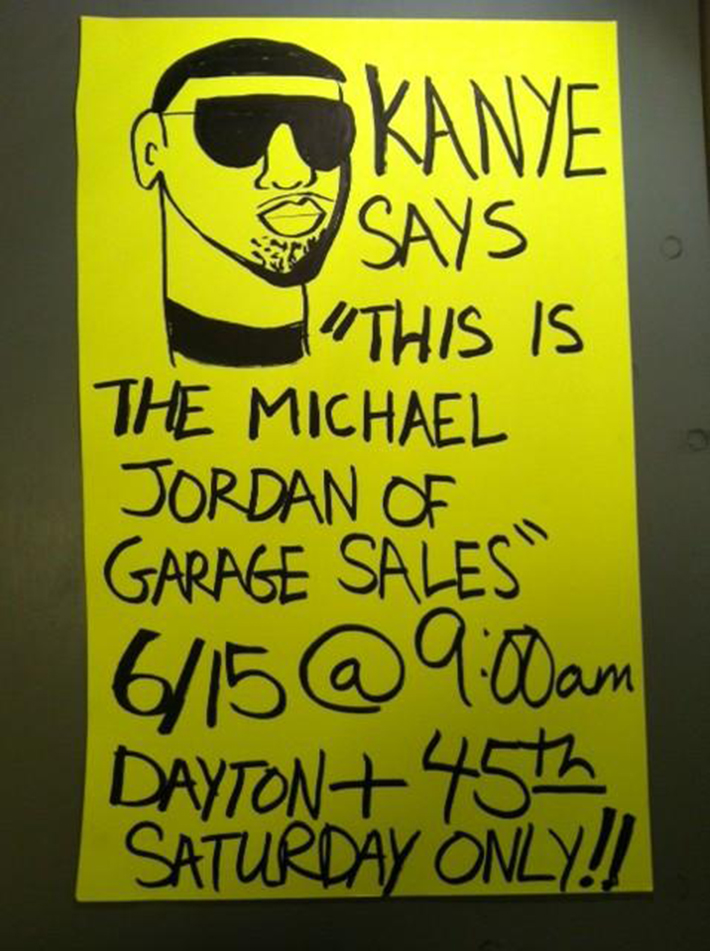 clever garage sale signs 10