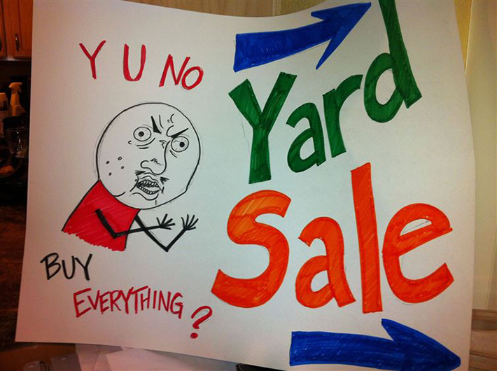 19 ridiculously funny garage sale signs you ll ever see 14 had me