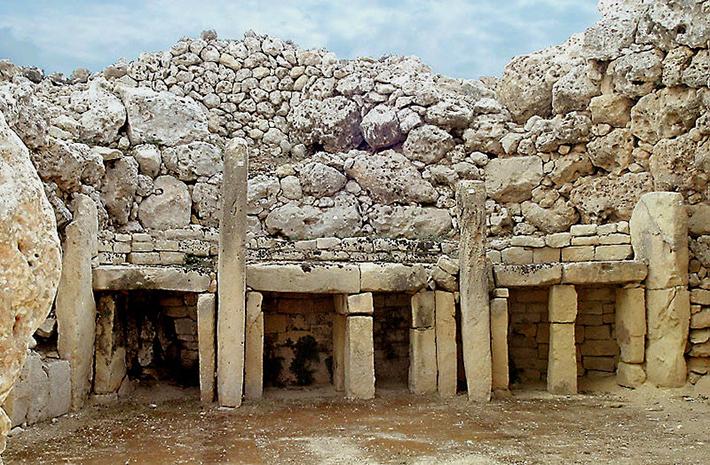 Megalit Ggantija, malta