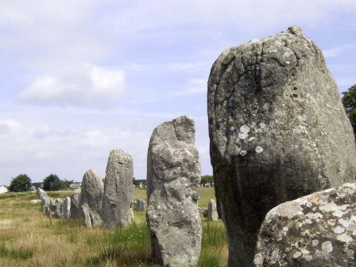 carnac stones, france 2