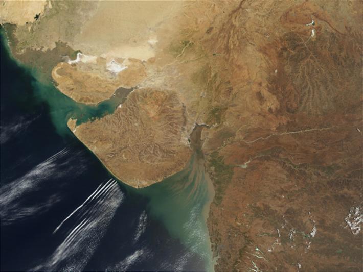 gulf of cambay, india