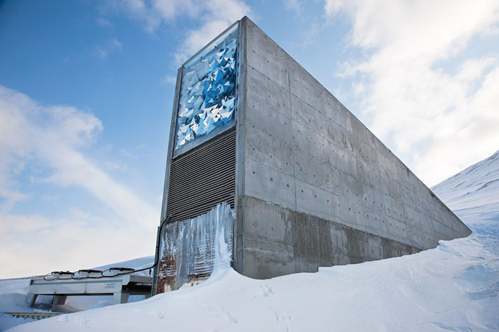 heavily guarded places - doomsday seed vault