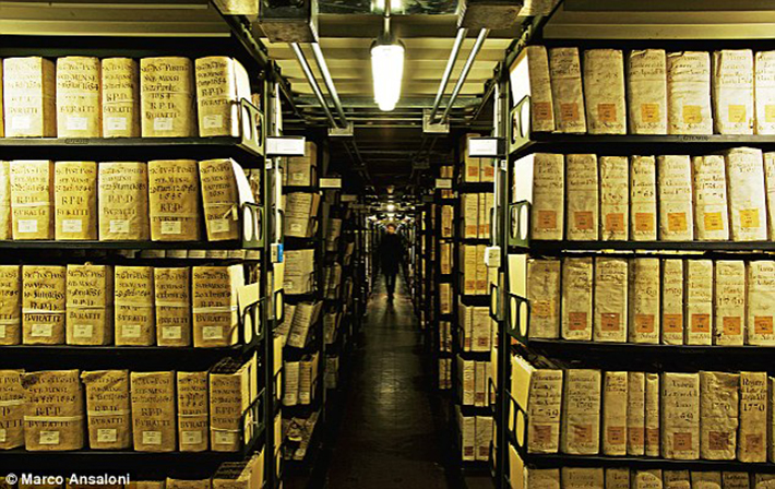heavily guarded places - vatican secret archives