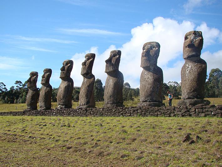 moai, easter island 2