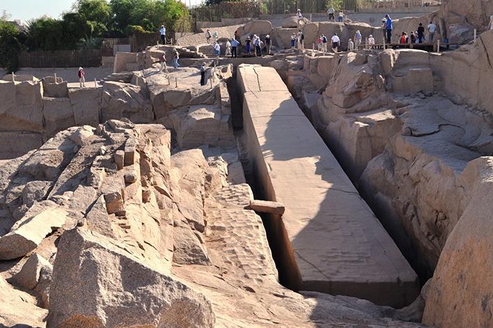 unfinished obelisk - aswan egypt 2