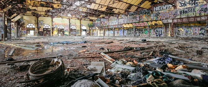 will ellies - rotting ny buildings -FI