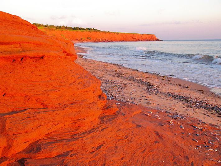 Red Sand Beach Hawaii Island