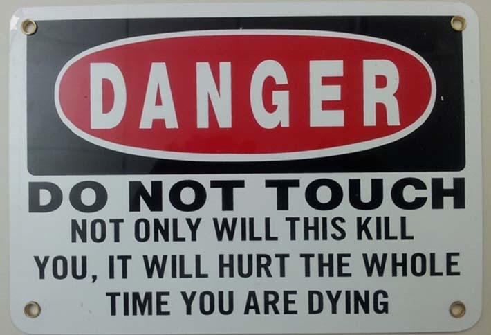 hilarious warning signs 41