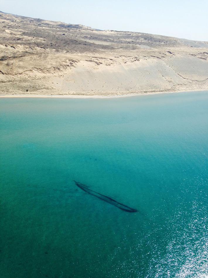 shipwrecks - lake michigan 1