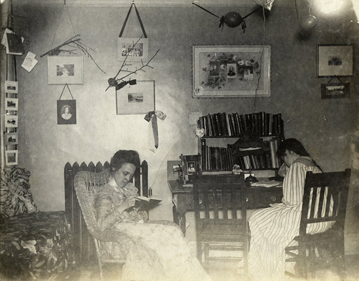 vintage dorm photos 2