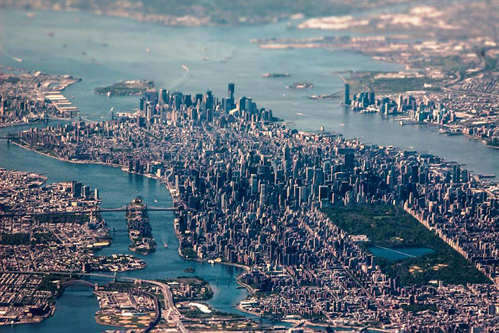 aerial photos - NYC