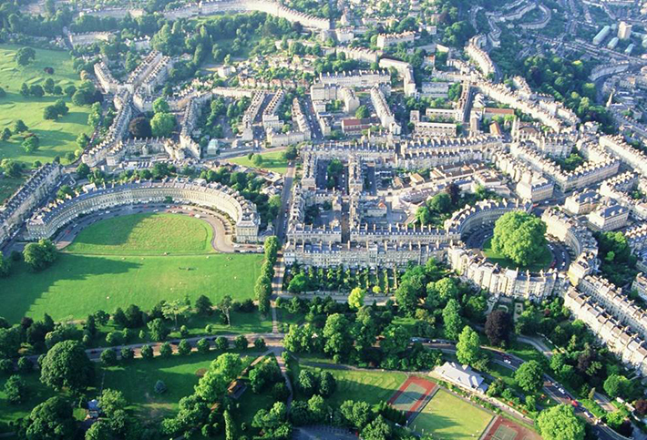 aerial photos - bath