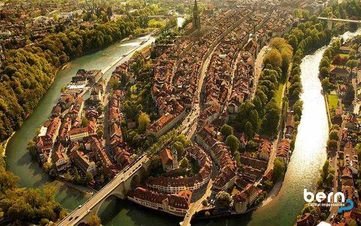 aerial photos - bern