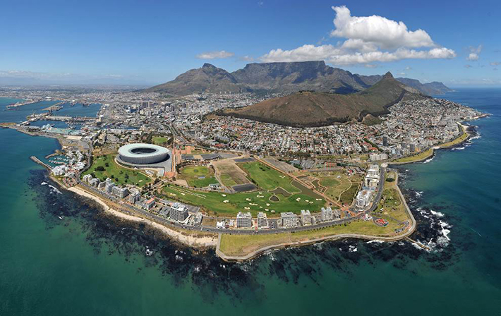 aerial photos - cape town