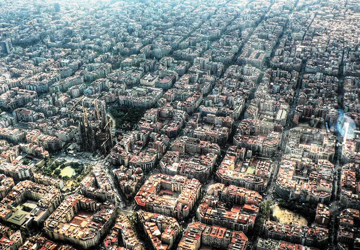 aerial photos - eixample dist