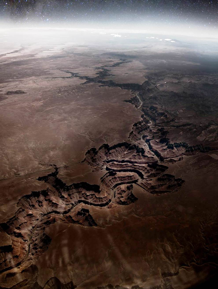 aerial photos - grand canyon