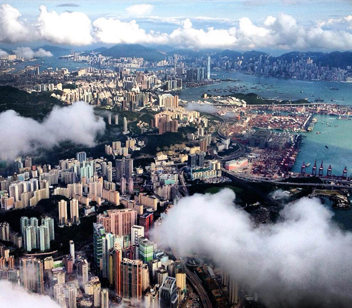 aerial photos - hongkong