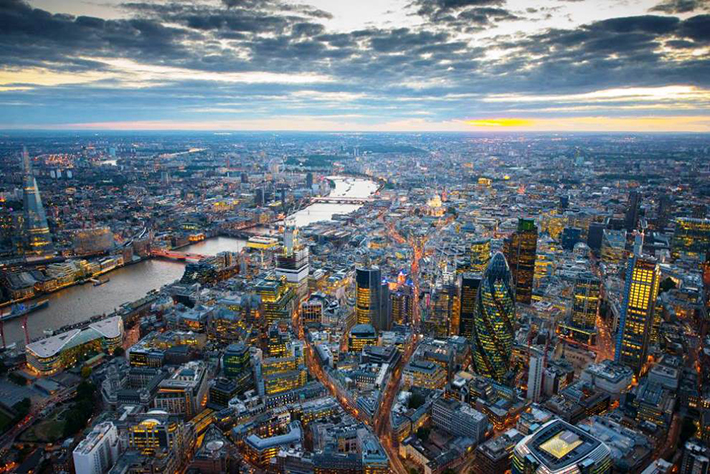 aerial photos - london