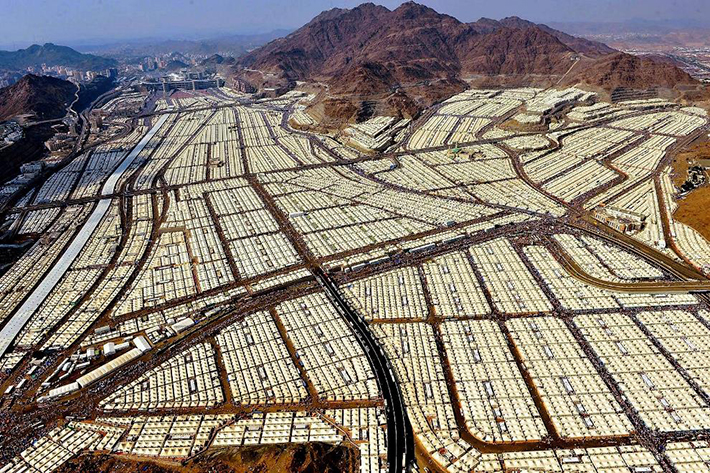 aerial photos - mecca