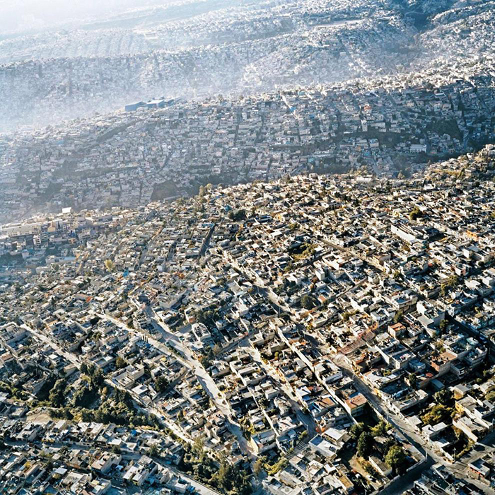 aerial photos - mexico city