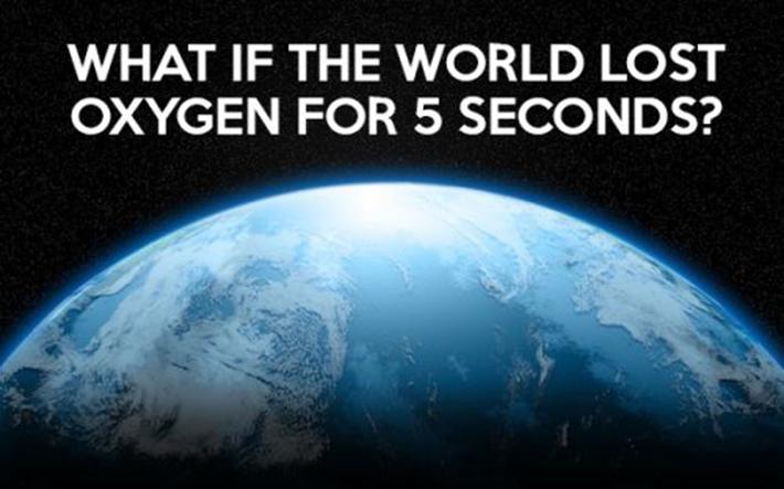 no oxygen for 5 sec - 1