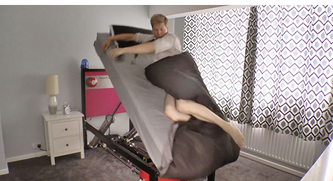 Inventor Creates High Voltage Ejector Bed Perfect For