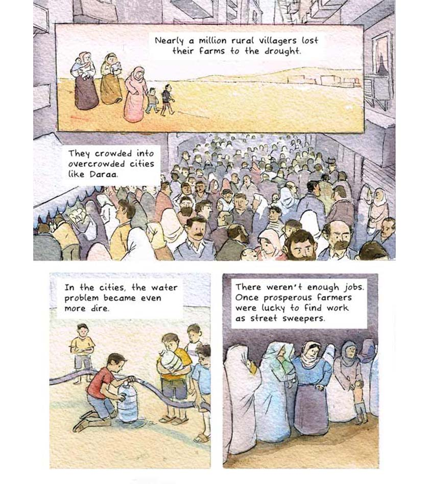 syria climate conflict - comic strip 4