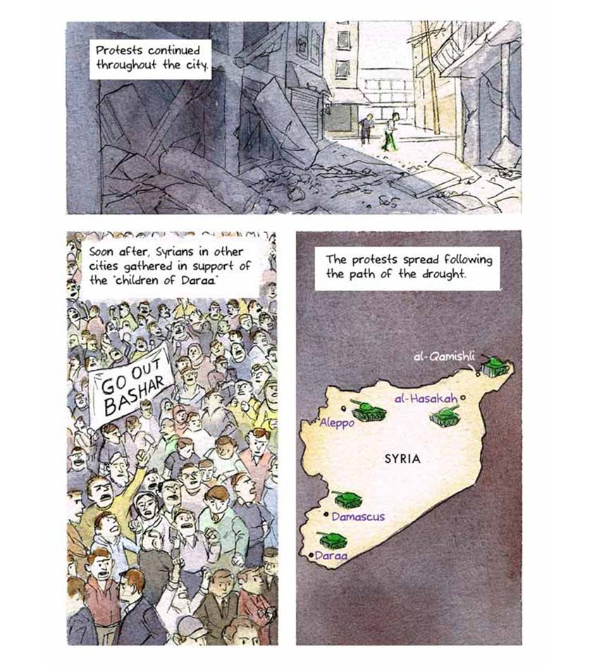 syria climate conflict - comic strip 8