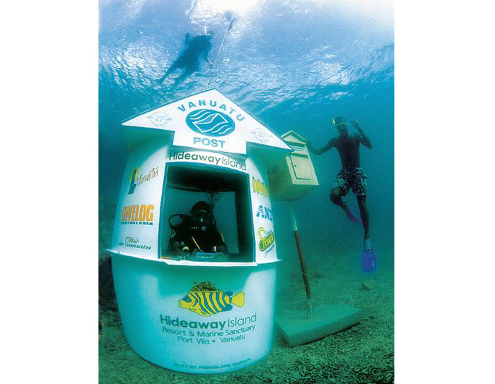 underwater post office 1