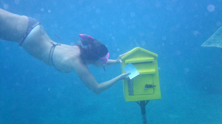 underwater post office 2