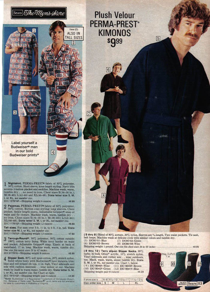 40 Cringeworthy Men S Fashion Ads From The 70s Atchuup Cool