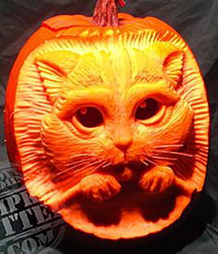 Tinkerbell Pumpkin Stencils