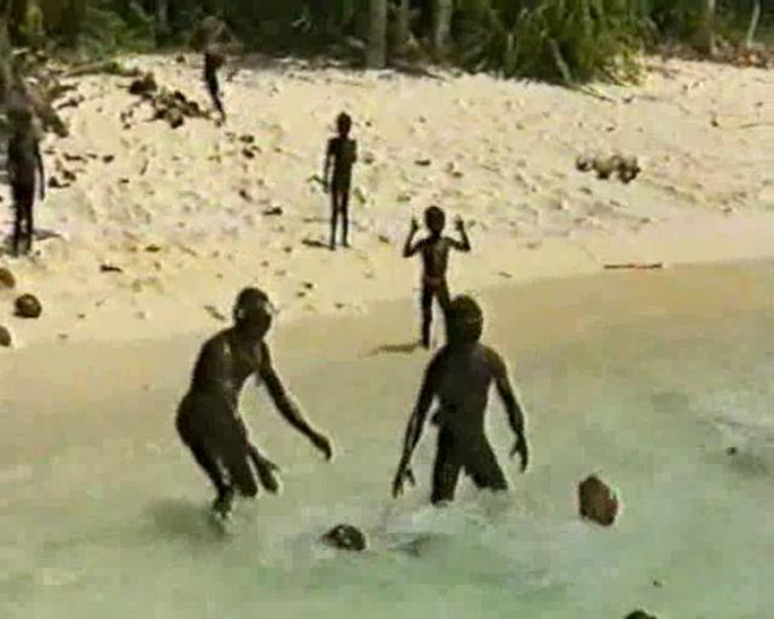 North Sentinel Island Inhabitants