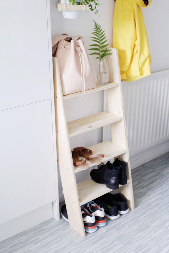 shoe storage diy ideas 7