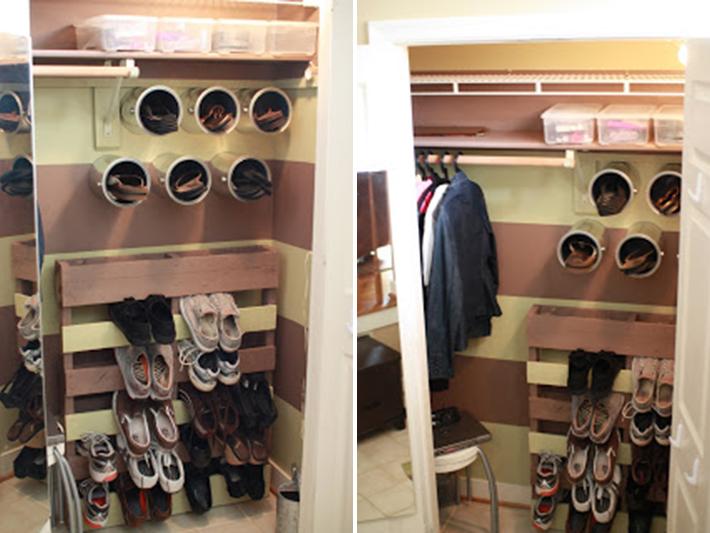 shoe storage diy ideas 8