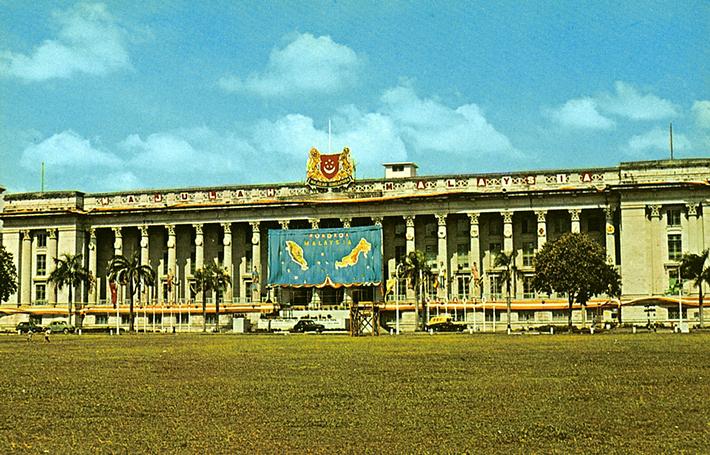 vintage postcards - singapore 1