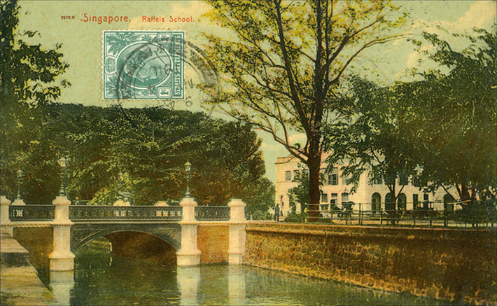 vintage postcards - singapore 12