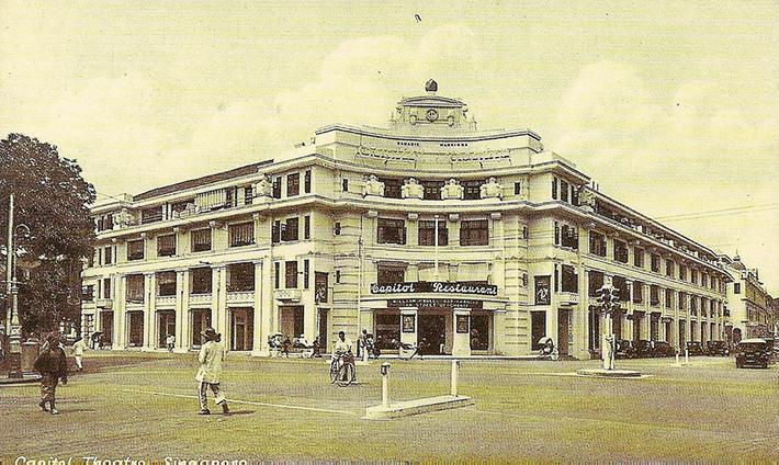 vintage postcards - singapore 13