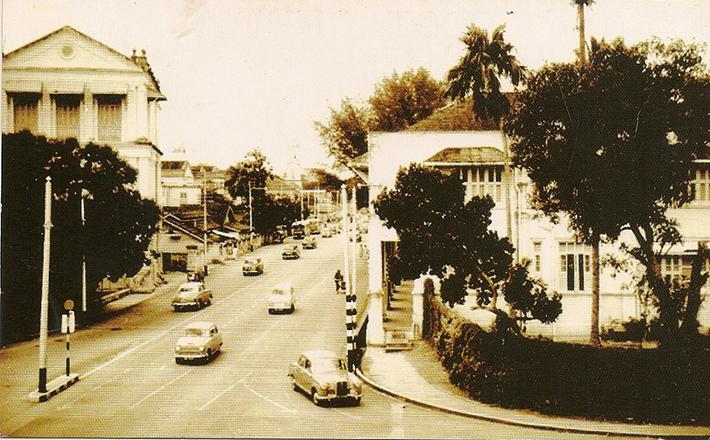 vintage postcards - singapore 16