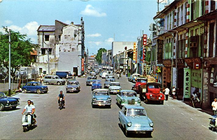 vintage postcards - singapore 17