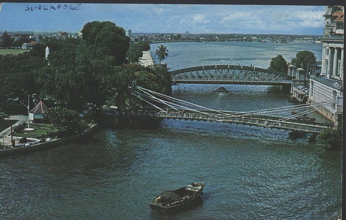 vintage postcards - singapore 18