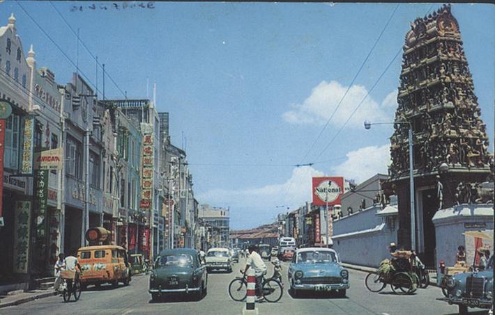 vintage postcards - singapore 20