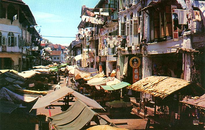 vintage postcards - singapore 6
